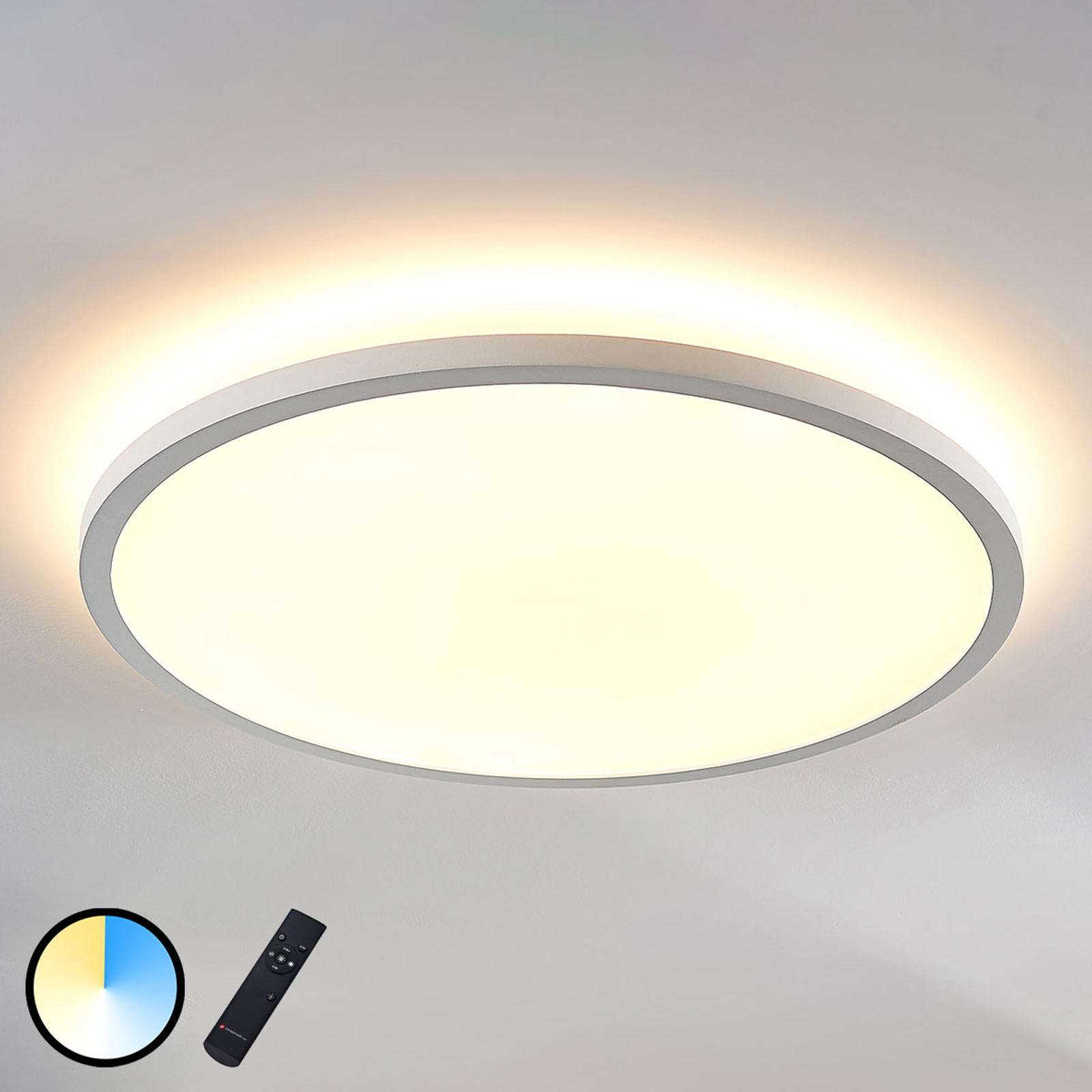 LED panel Brenda, dálkové ovládání CCT Ø 60 cm