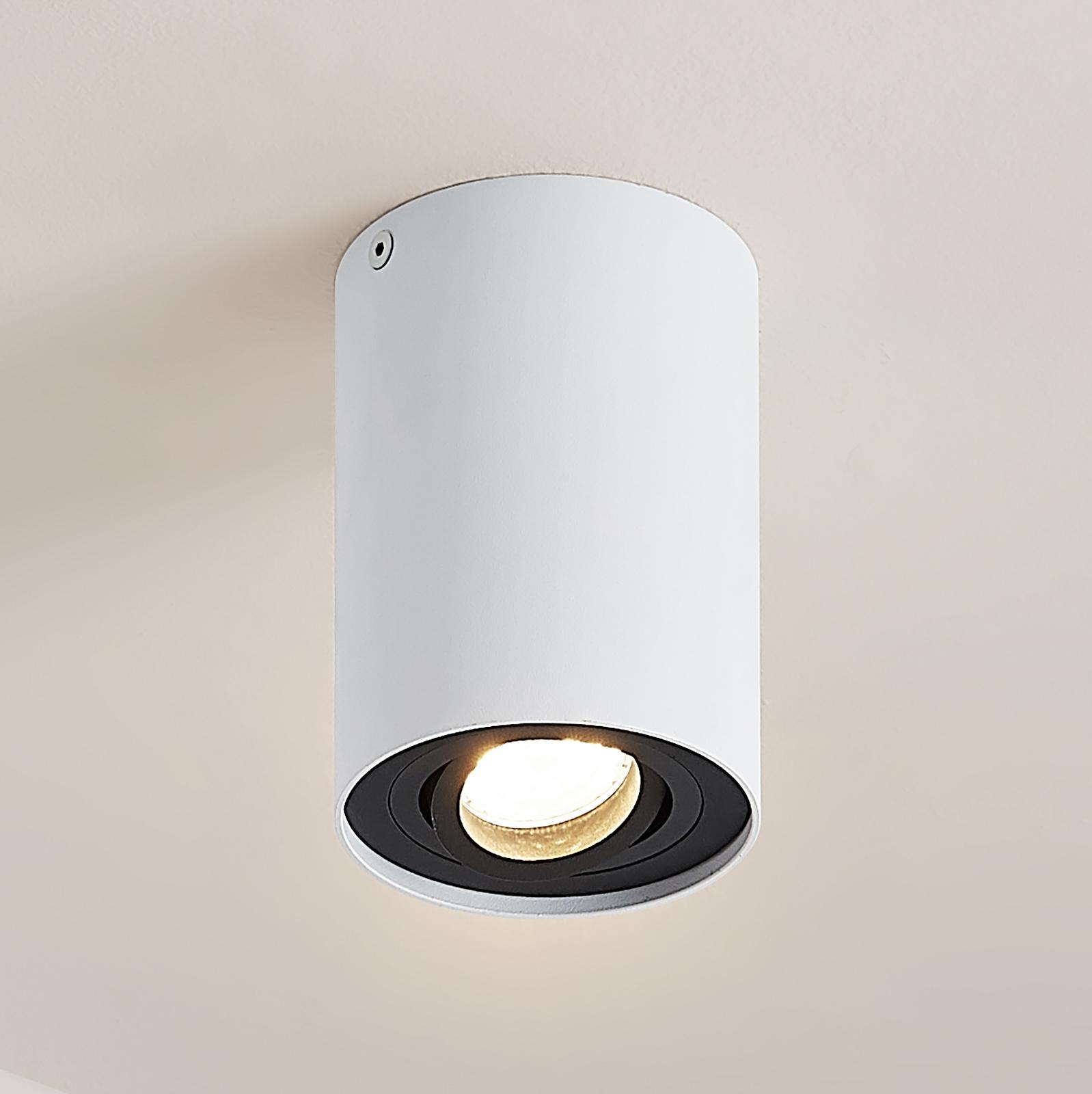 Arcchio Hermalina taklampe, rund, 1 lyskilde