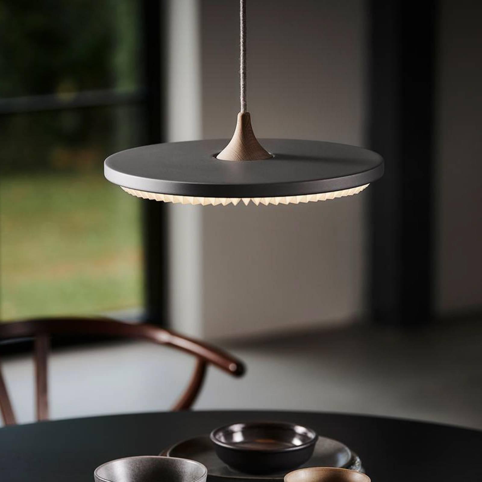 LE KLINT Soleil suspension LED gris clair Ø35cm