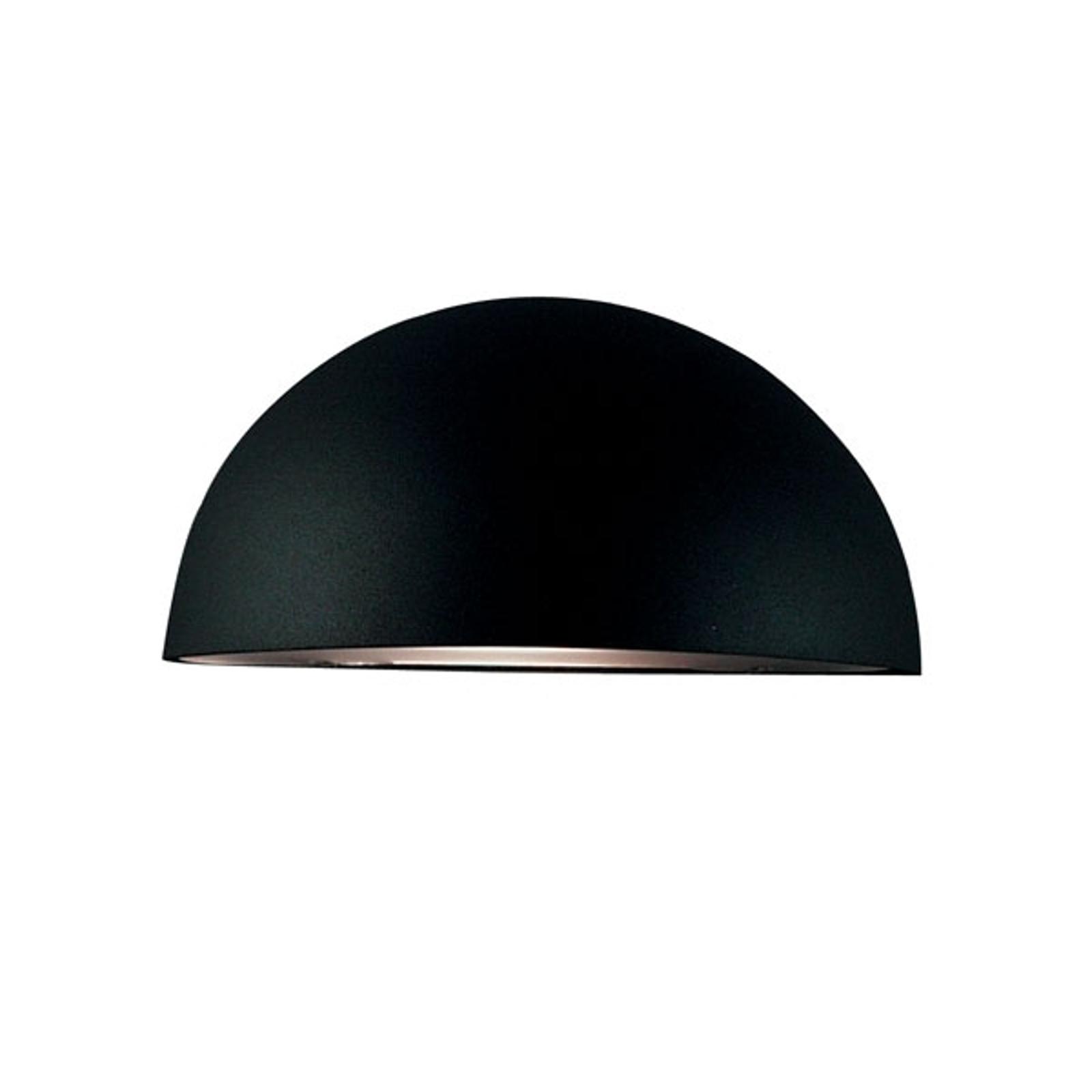 Fraaie wandlamp Bergen, zwart