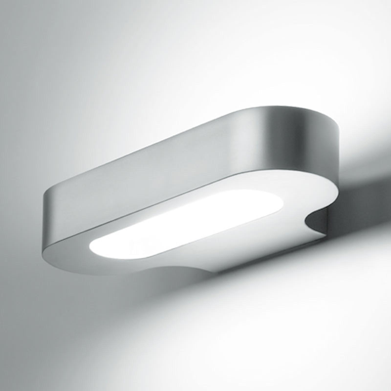 Artemide Talo LED-vegglampe 21cm sølv 3000K