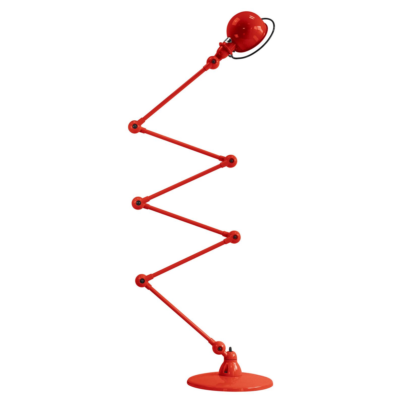 Jieldé Loft D9406 vloerlamp 6x40cm, rood