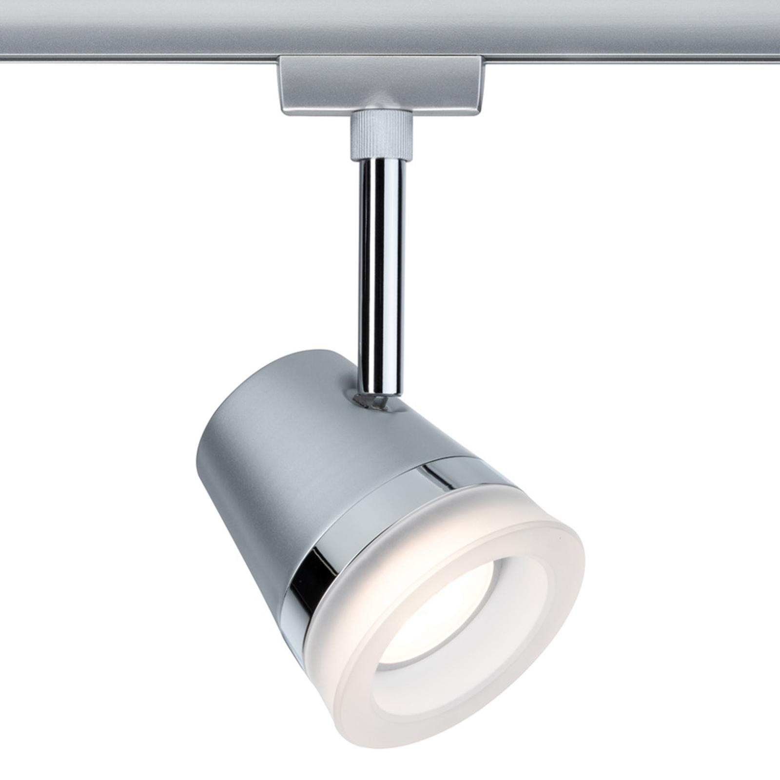 Paulmann URail Cone LED-spot, krom matt