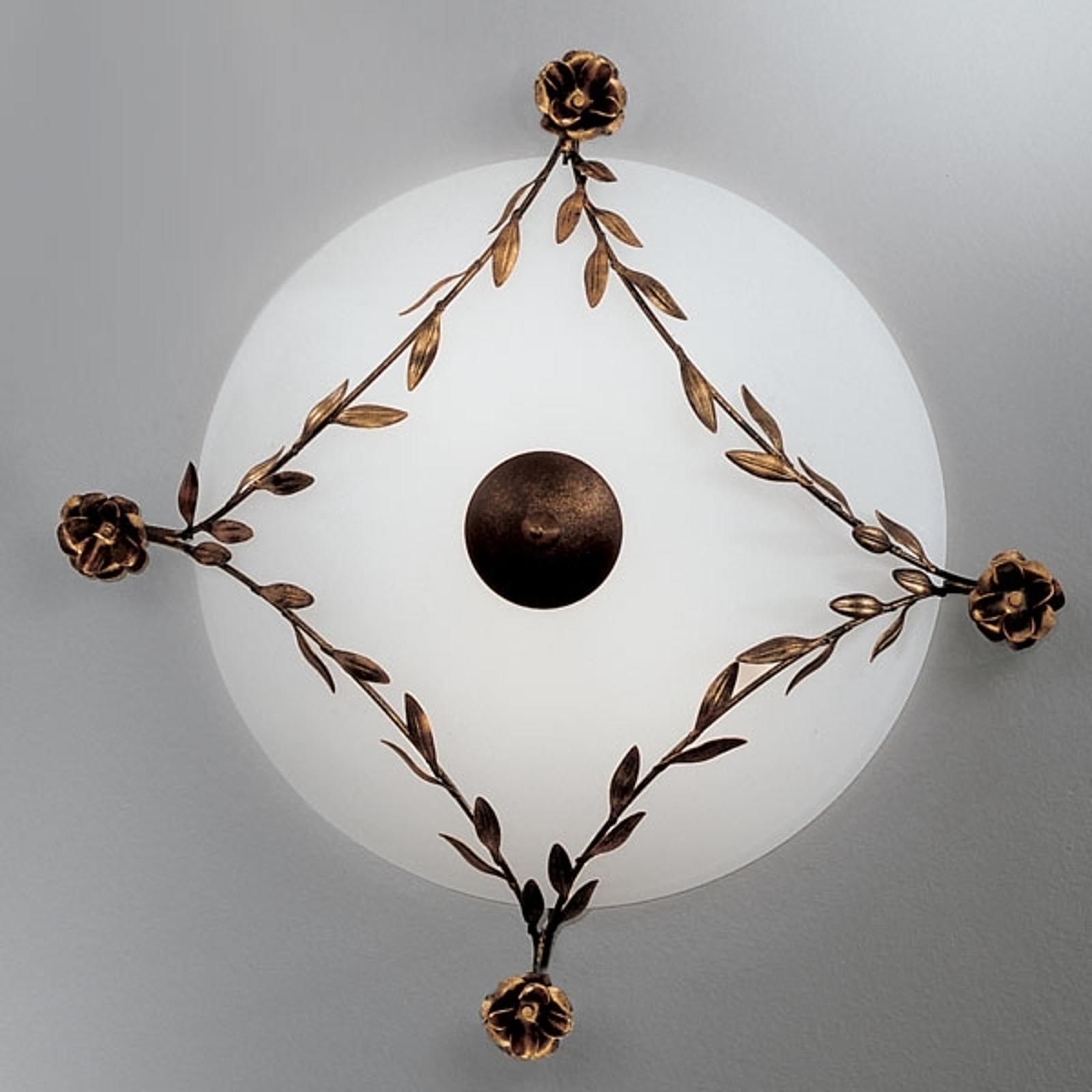 Ujmująca lampa sufitowa ROSE 48 cm