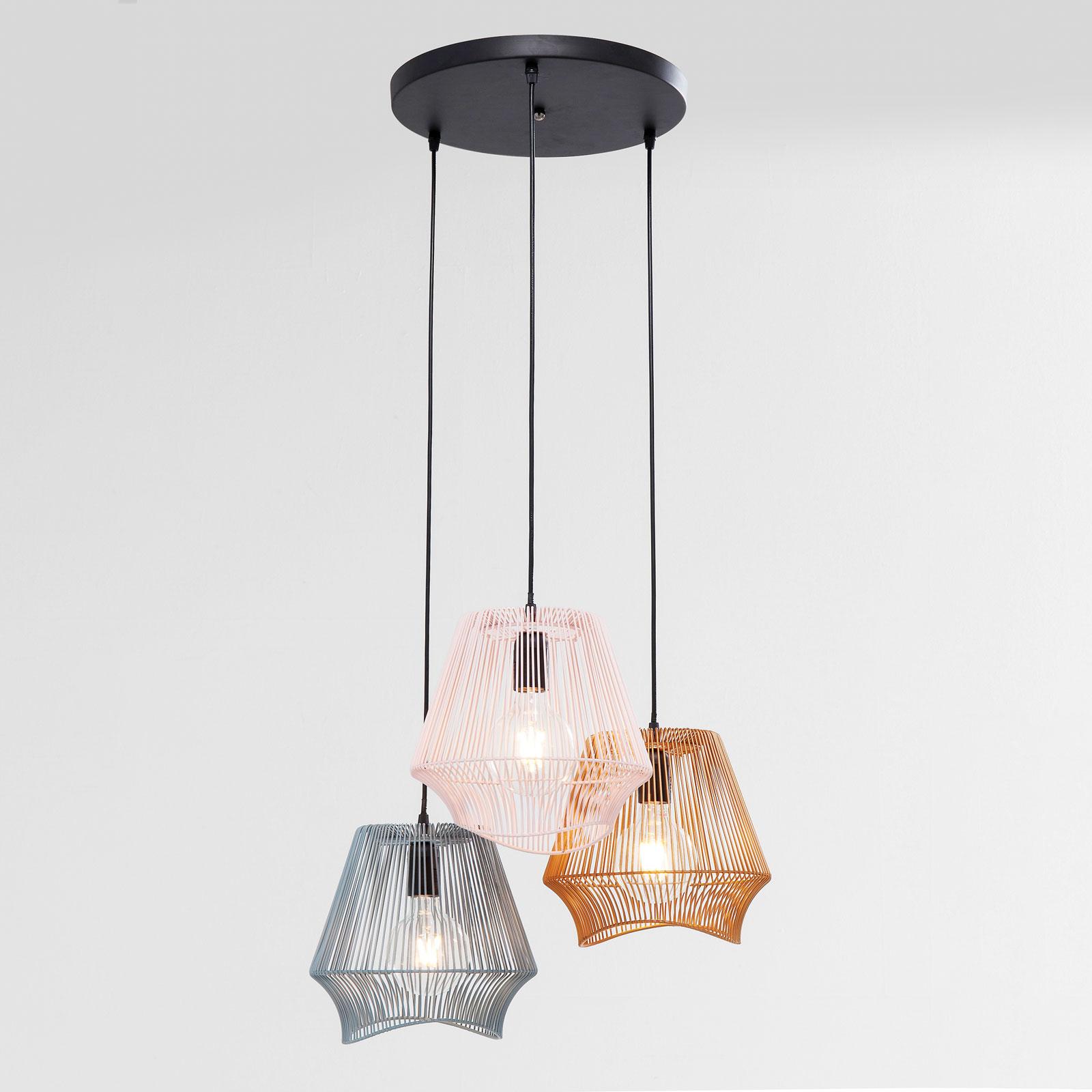 KARE Ischia Spiral lampa wisząca, Ø 50 cm