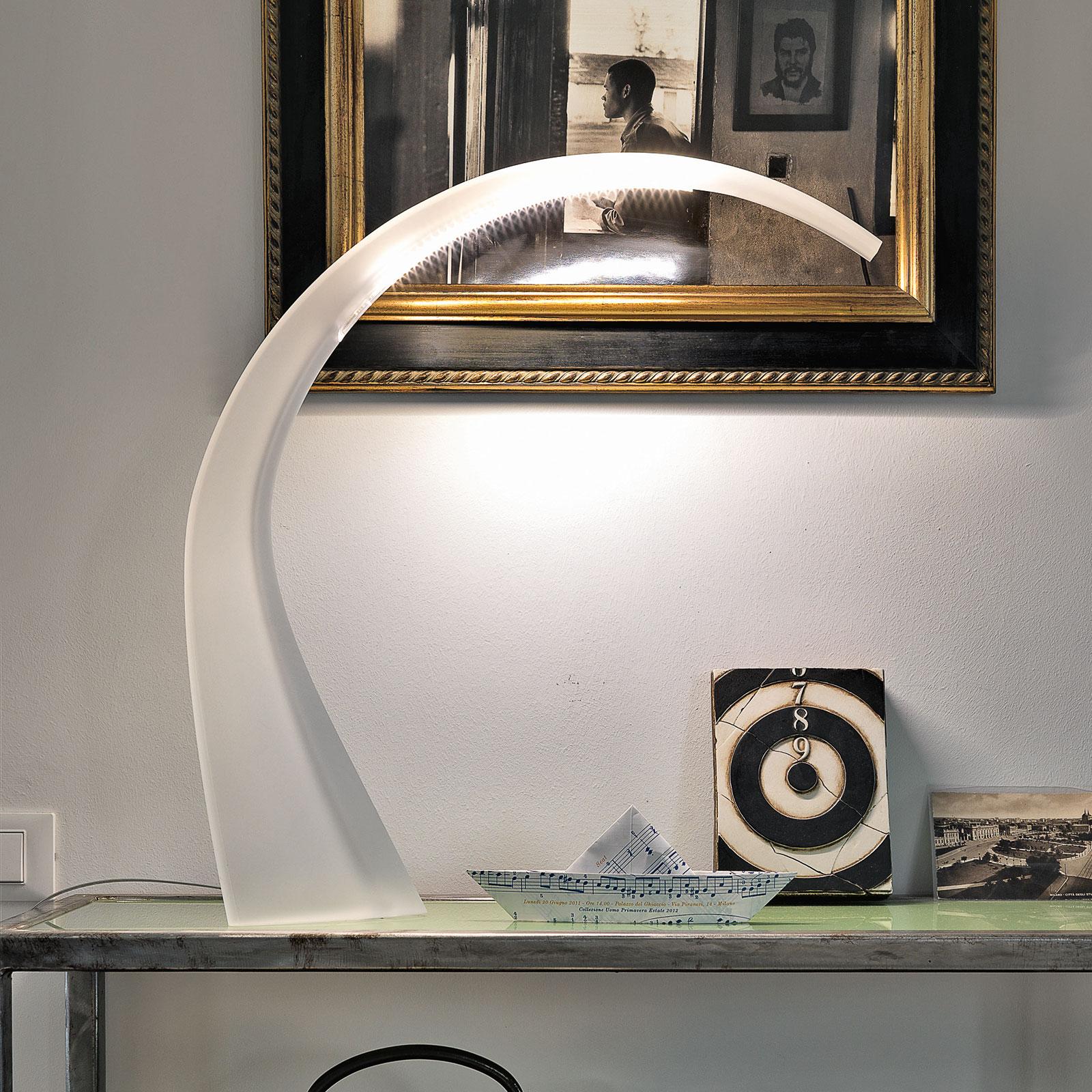 Kartell Taj Mini LED-Schreibtischlampe transparent