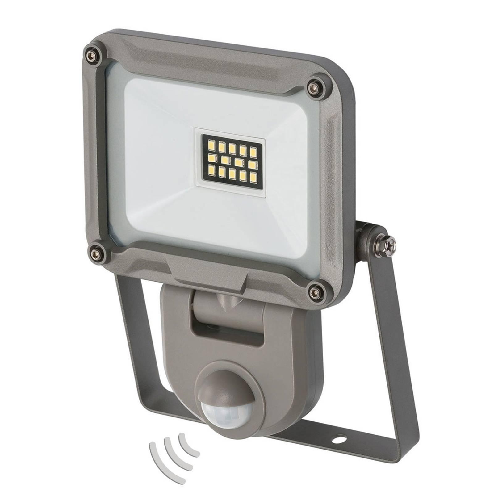 LED buitenspot Jaro met sensor IP44 10W
