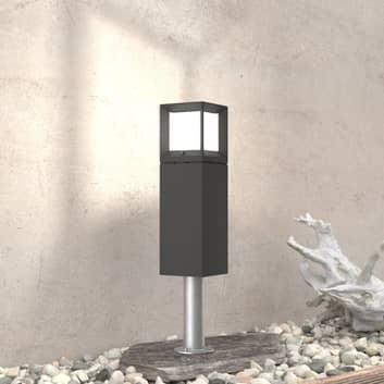 BEGA 84604 - lampioncino LED grafite, 3.000 K