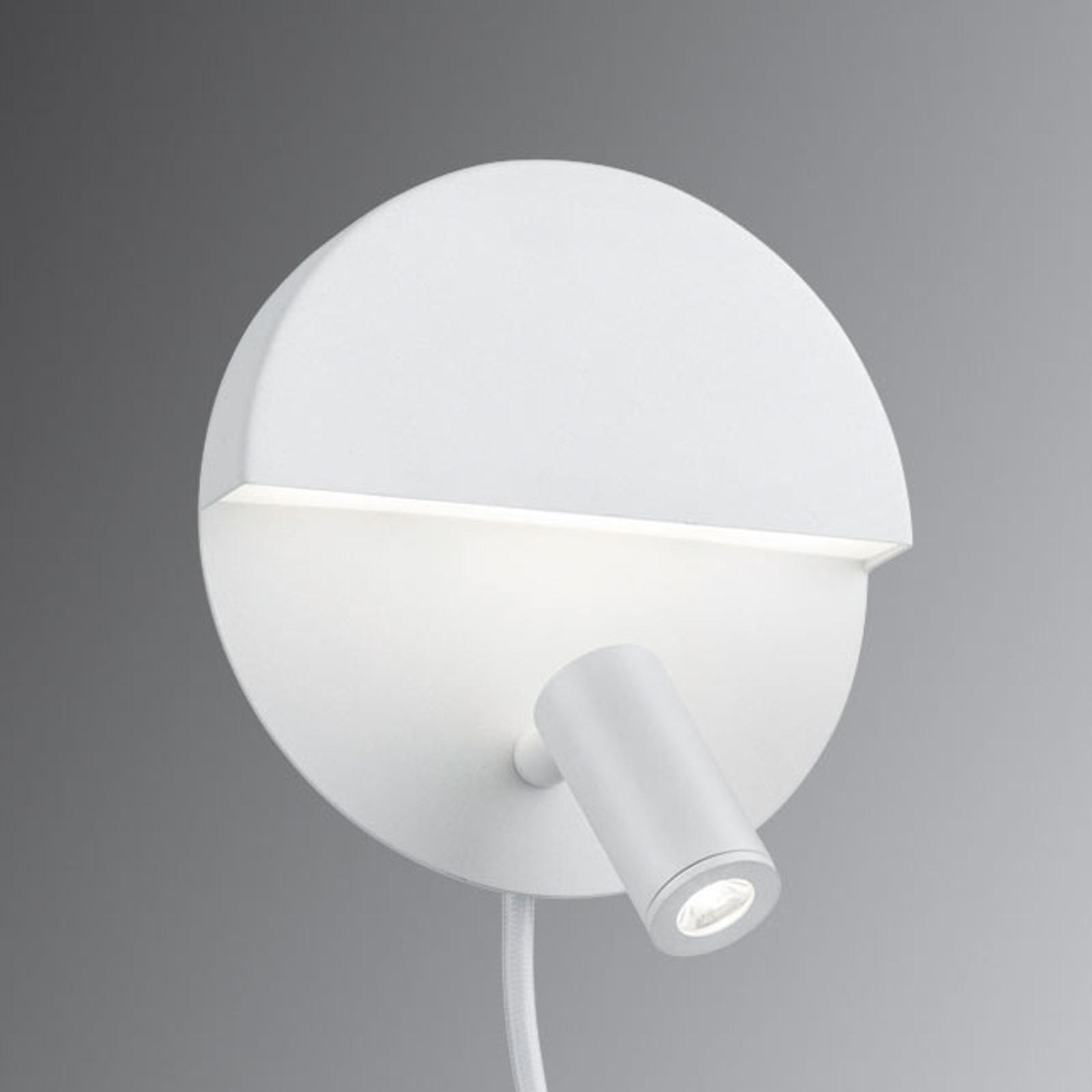 Funktionale LED-Wandleuchte Mario mit 2 Schaltern