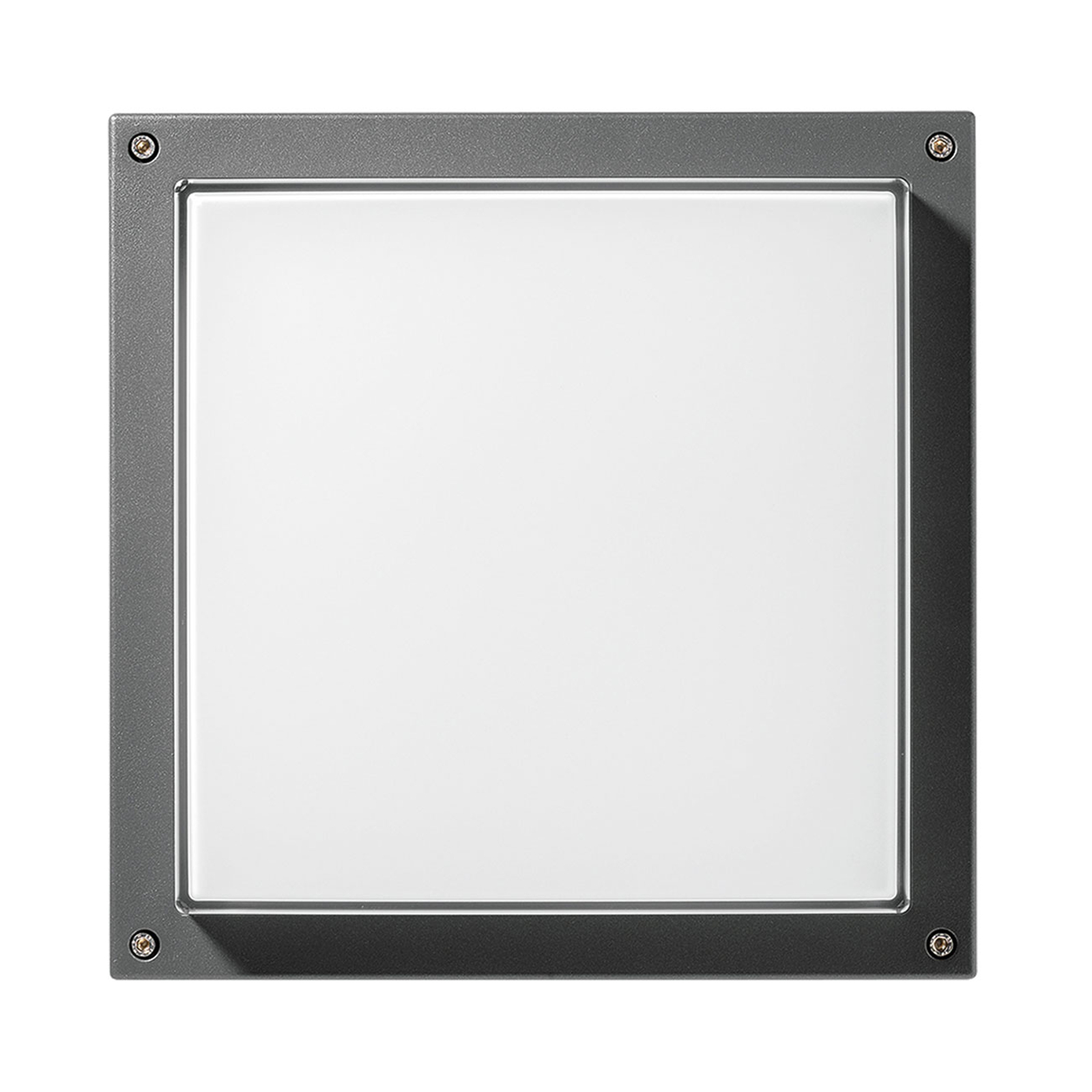 Applique LED Bliz Square 40, 3 000 K, anthracite