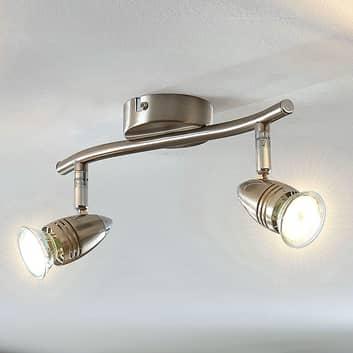 LED-takspotlight Benina, 2 lampor