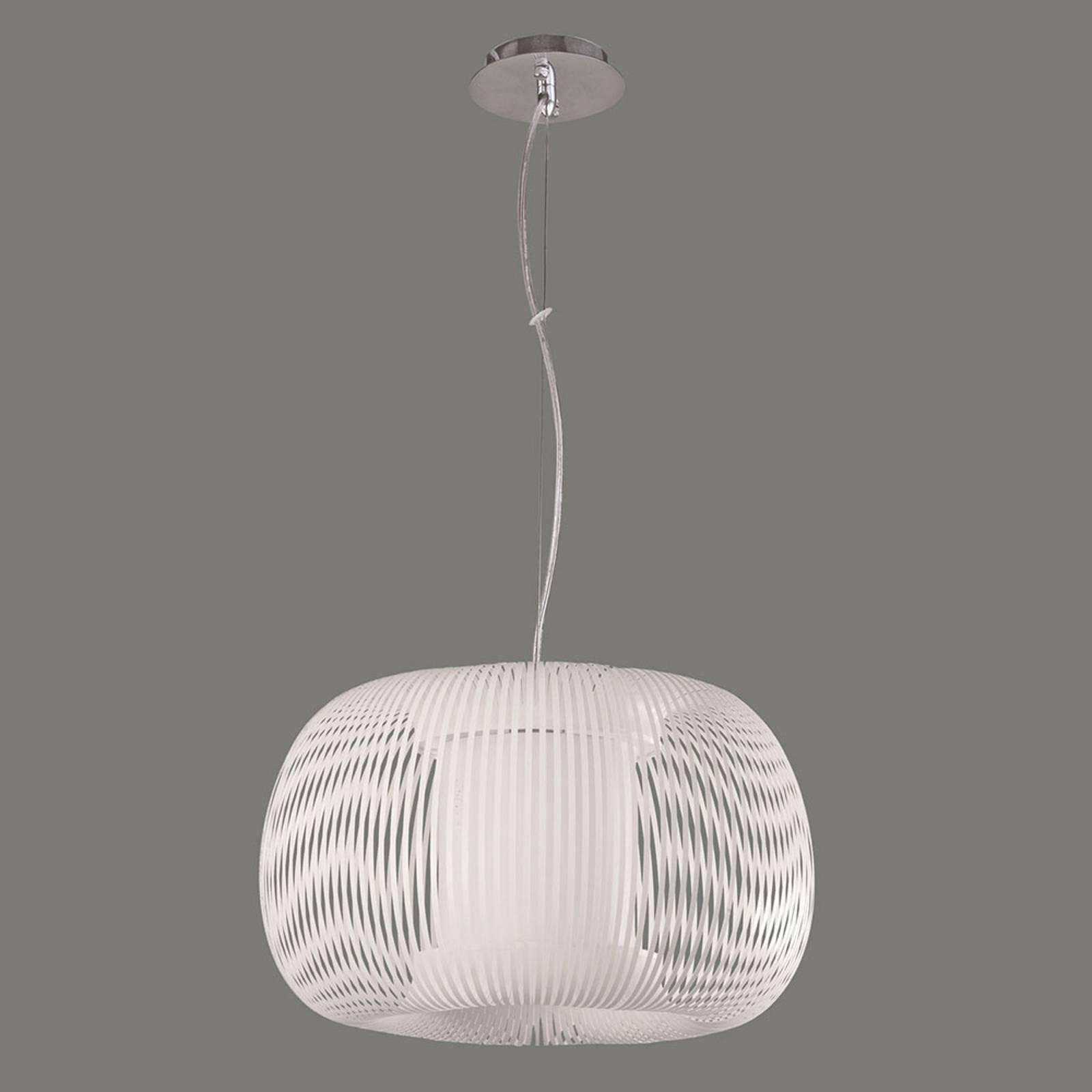 Hanglamp Mirta, wit, Ø 45 cm