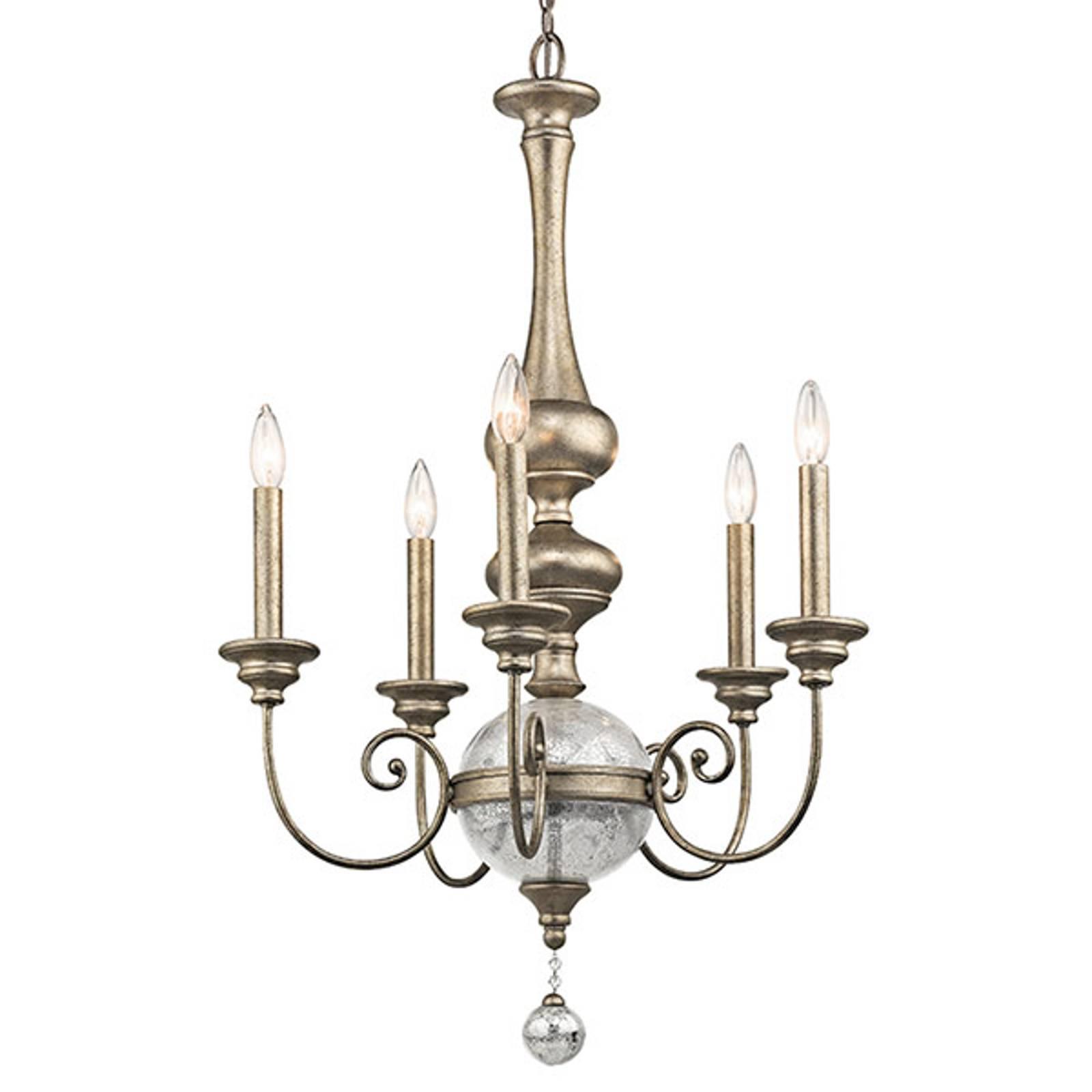 Kroonluchter Rosalie 5-lamps Ø 61 cm