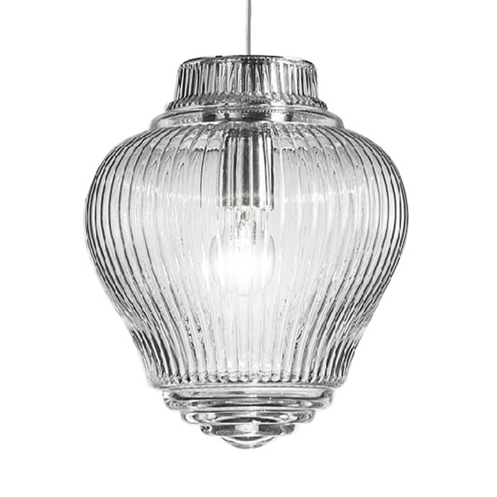 Lampa wisząca Clyde 130 cm przezroczysta