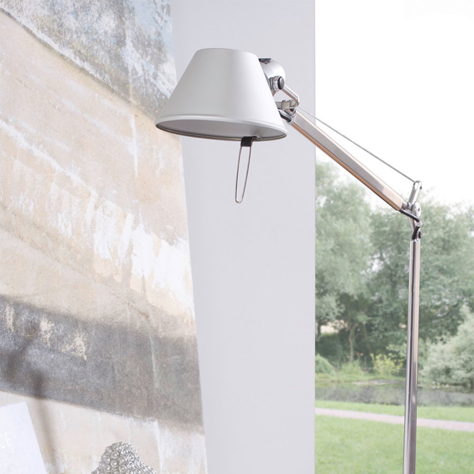 Artemide Tolomeo Midi lampa LED alu 3000 K