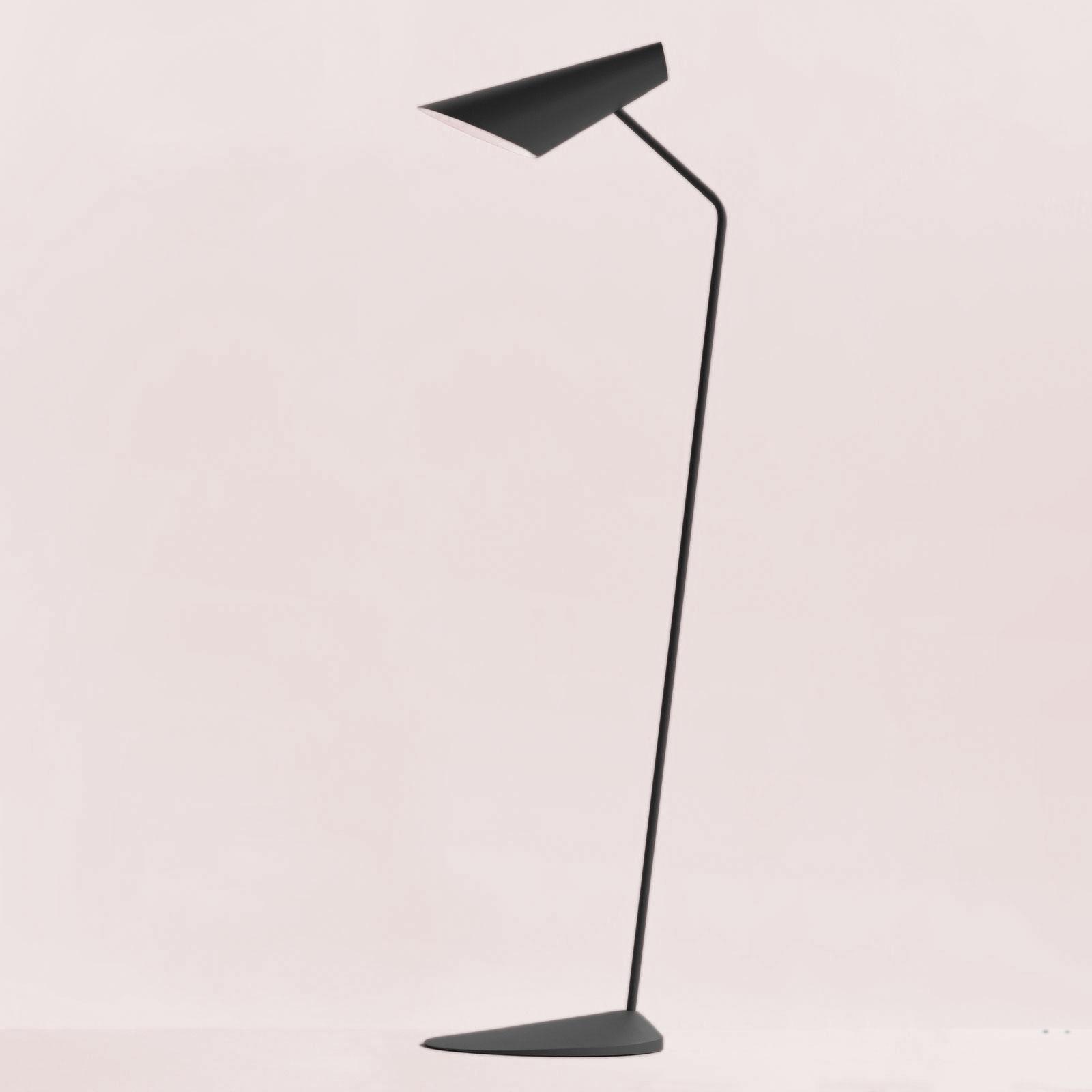 Billede af Vibia I.Cono 0712 designer-gulvlampe, grå