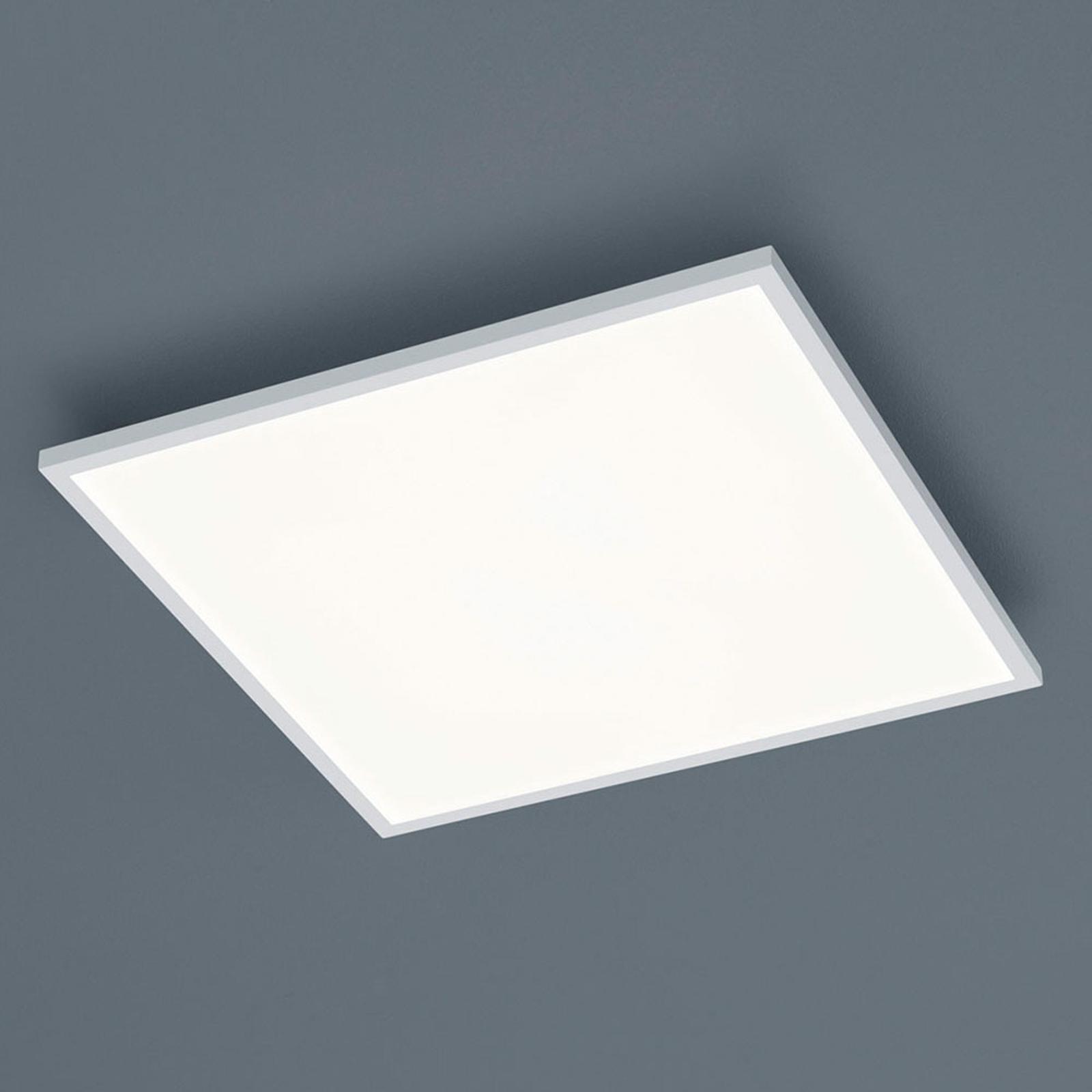 Helestra Rack LED-taklampe, dimbar, kantet, hvit