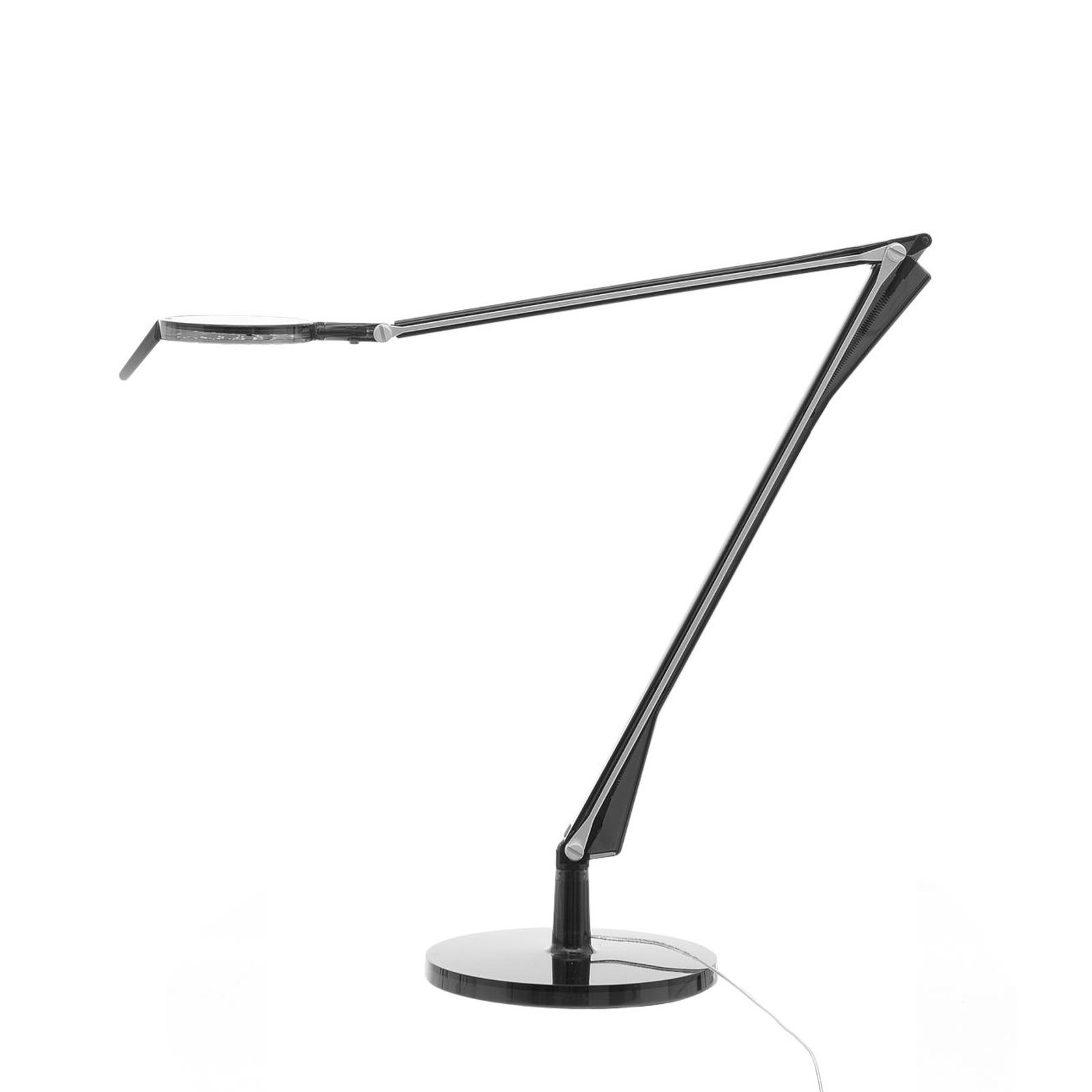 Kartell Aledin Tec LED-Tischleuchte, rauchgrau