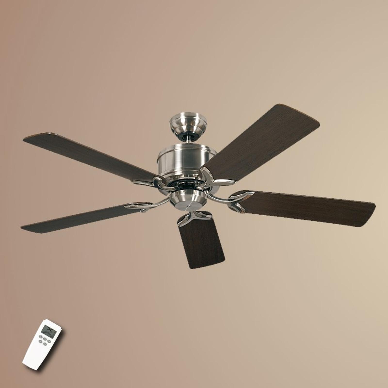 Stropní ventilátor Eco Elements, wenge a javor