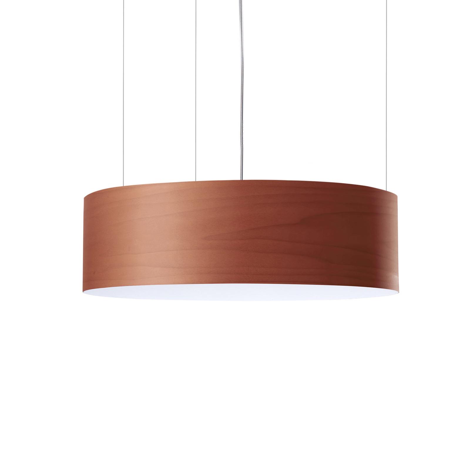 LZF Gea Slim LED-hengelampe 0-10V dim, sjokolade
