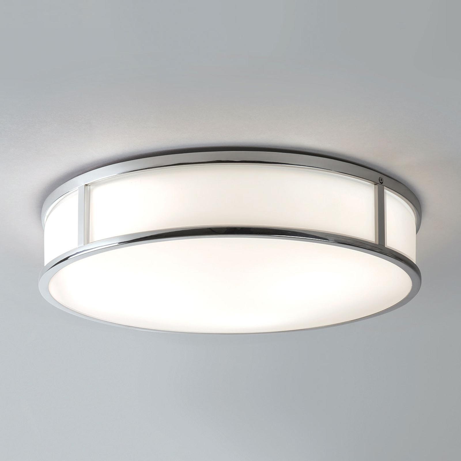 Astro Mashiko Round – lampa sufitowa Ø 40cm chrom