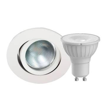 Megaman DecoclicSet LED-indbygningsspot GU10 5 W