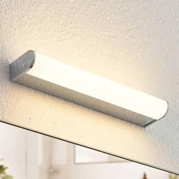 Arcchio Ecaterina applique bain LED chromée, 37cm