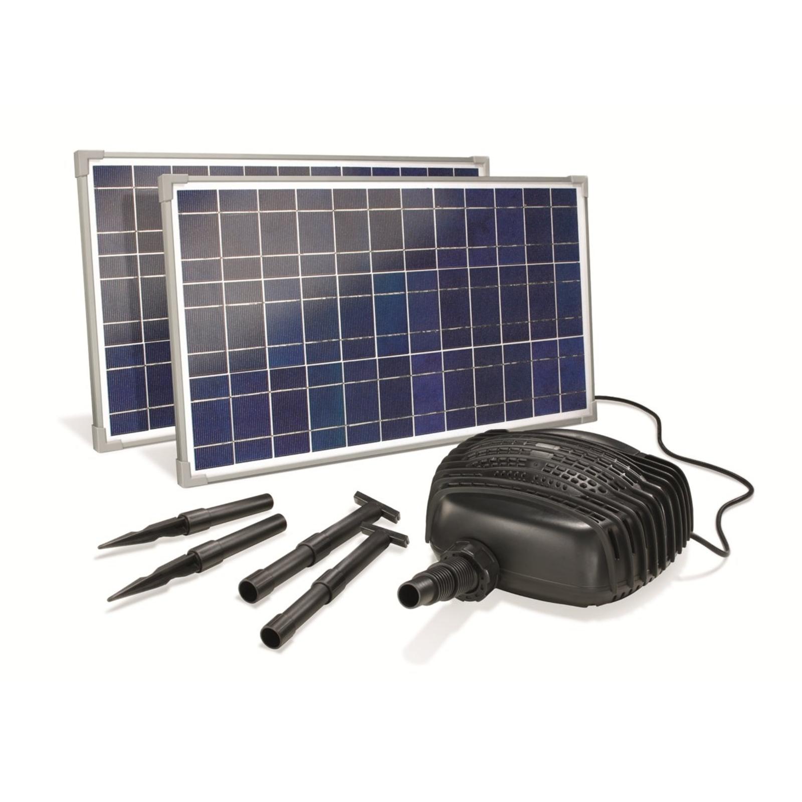 Adria solcelledrevet bækpumpesystem