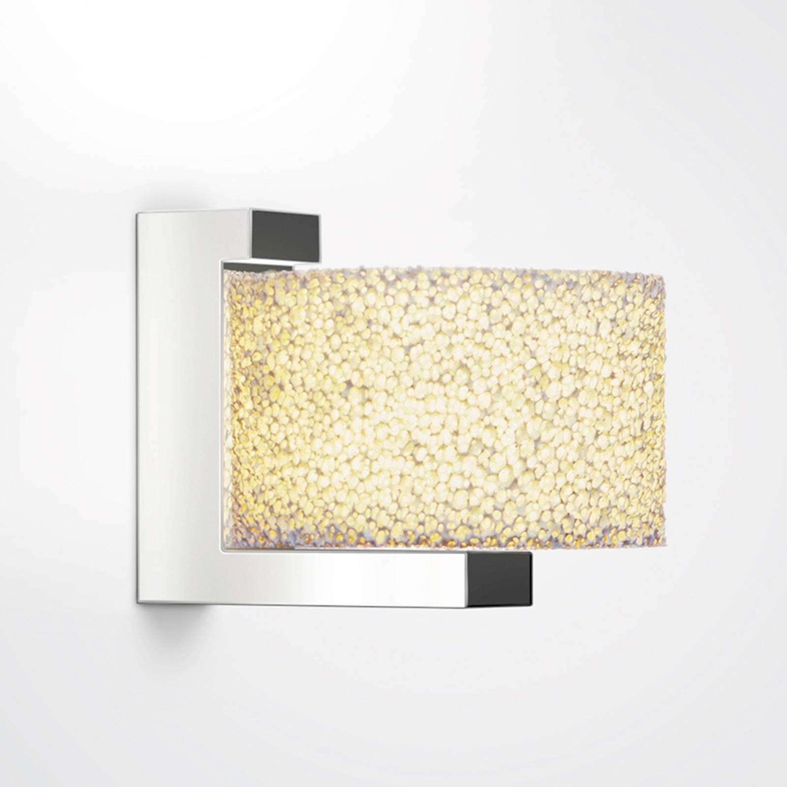 Wandlamp Reef van keramisch schuim, dimbare LED's