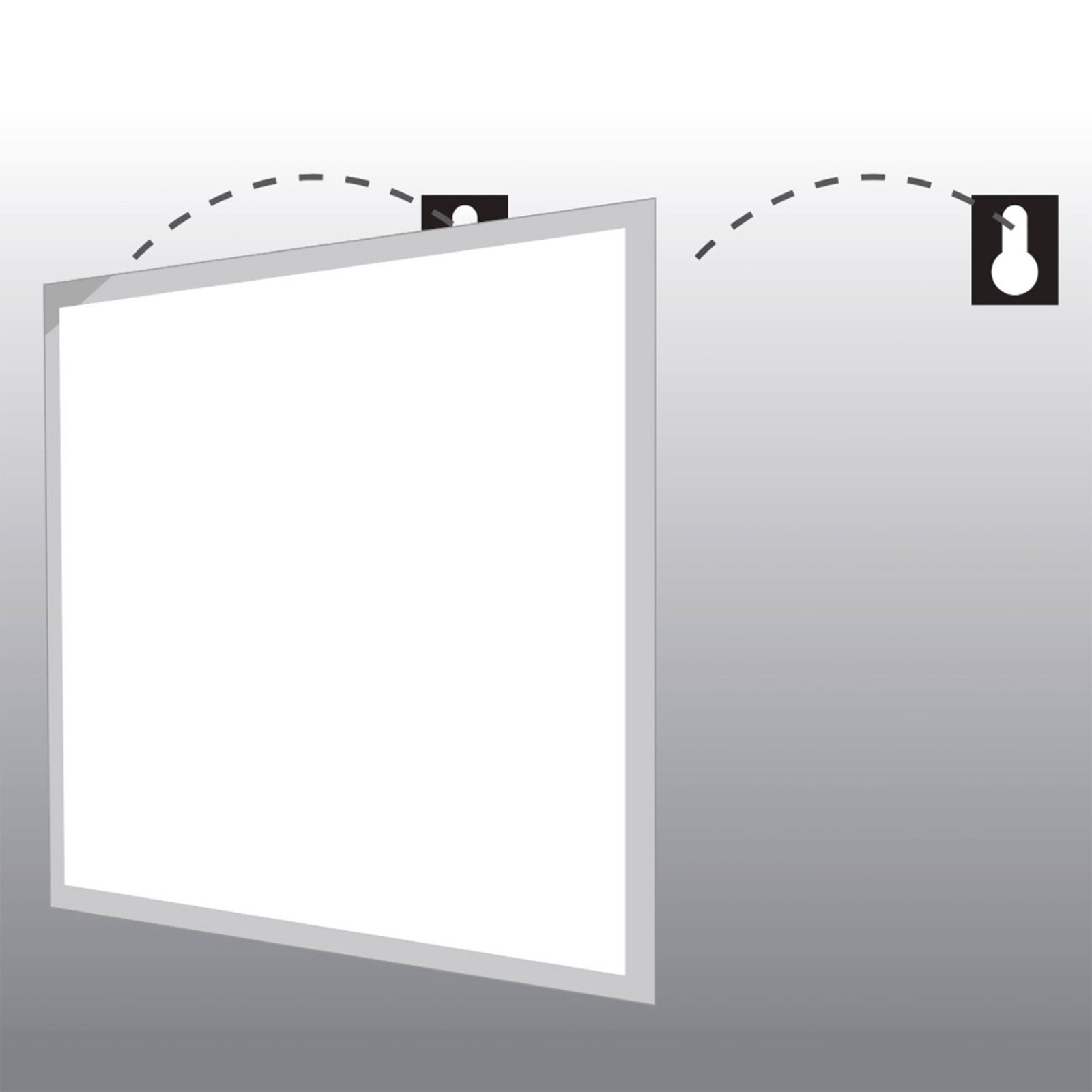 SLC plafondmontage-set voor LED paneel