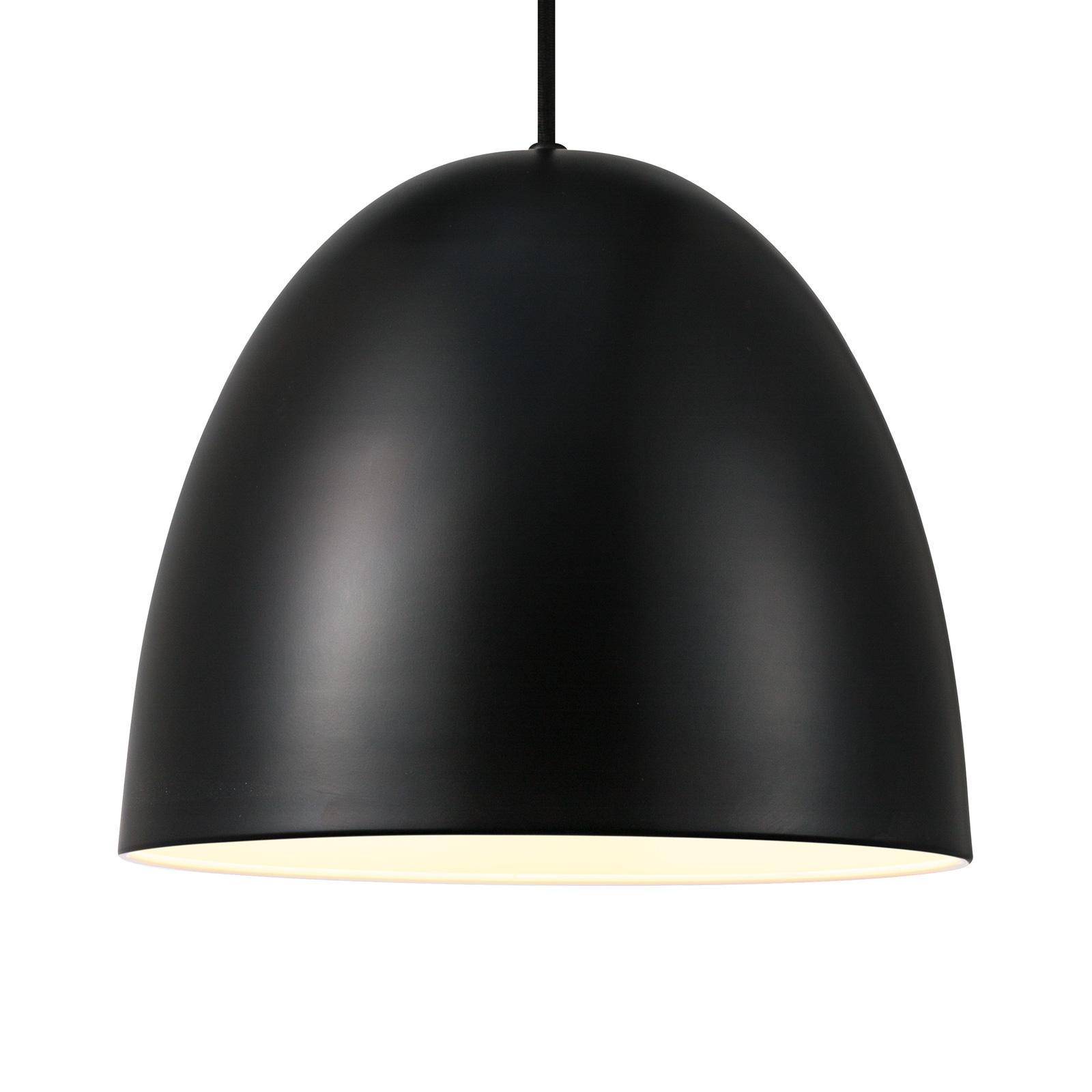 Lampa wisząca Alexander z metalowym kloszem czarna