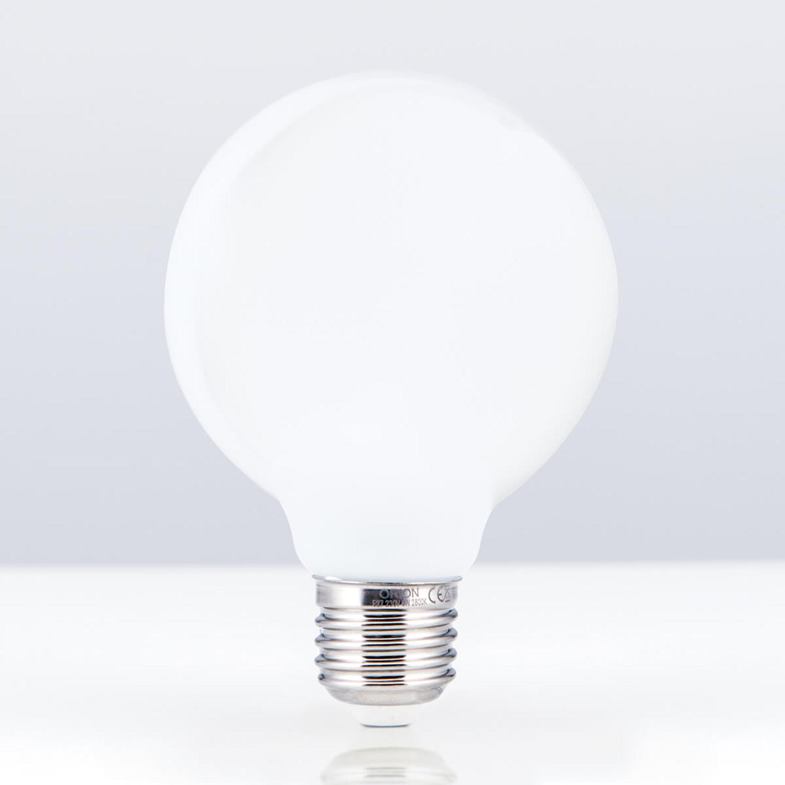E27 6 W 828 LED-globlampa G80 opal