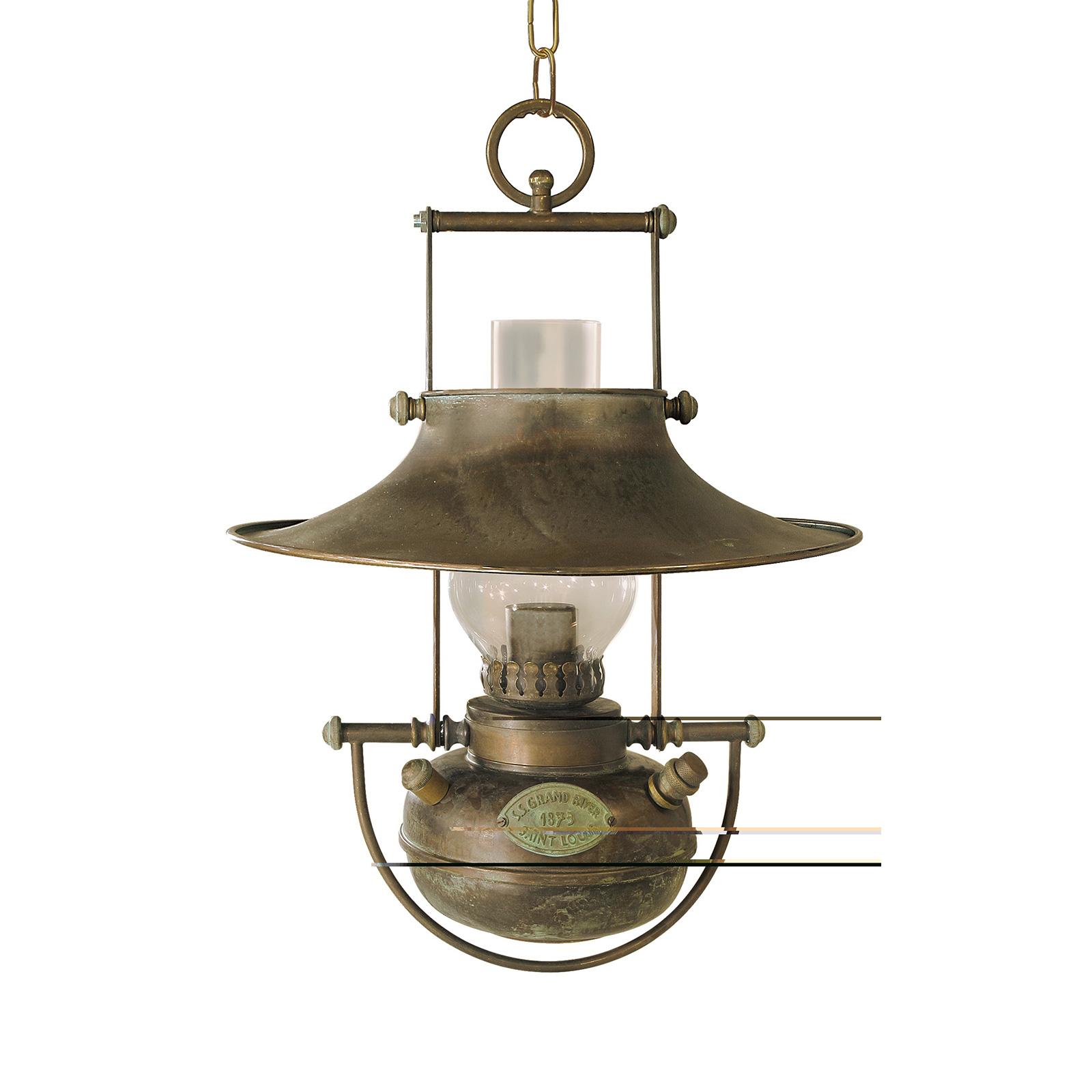 Antieke hanglamp Guadalupa