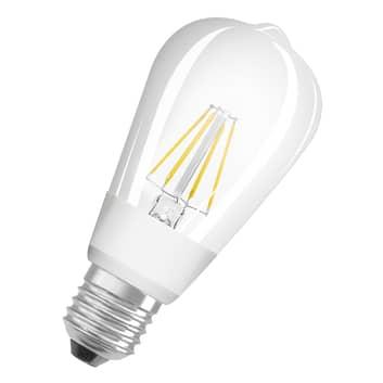 OSRAM LED-pære E27 7W CL60 827 Edison Glow dim