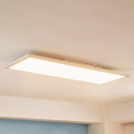 Avlång LED-panel Enja, 30 x 80 cm