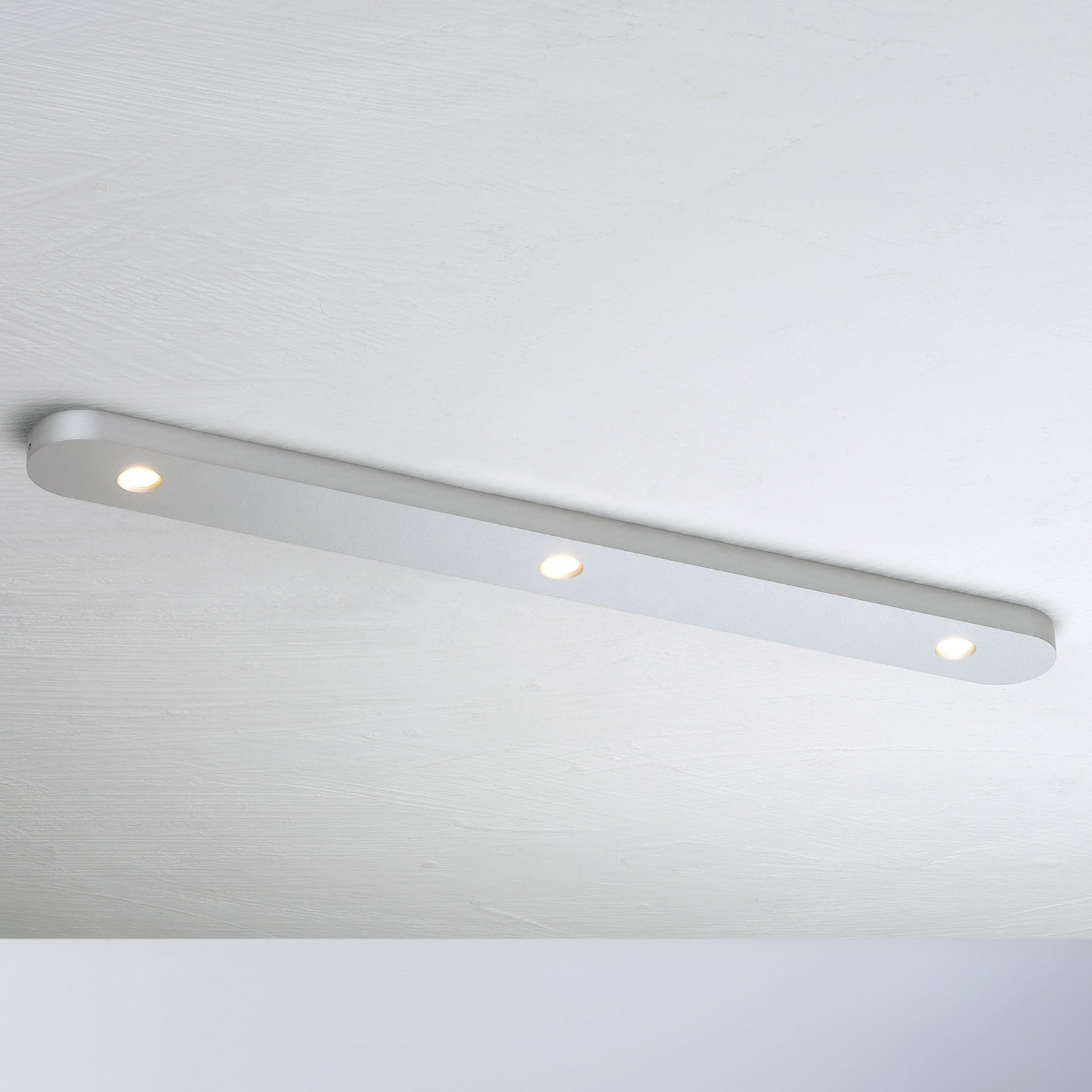 Bopp Close lampa sufitowa LED 3-pkt. aluminium