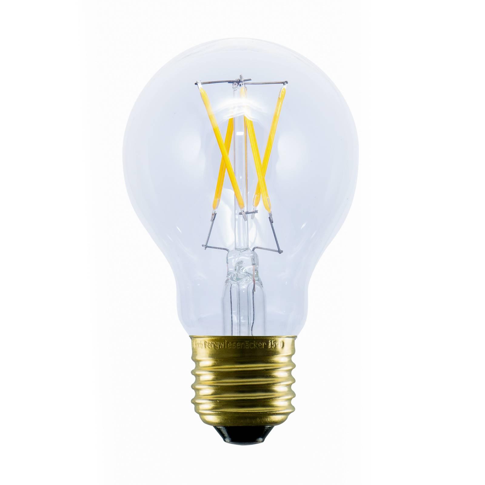 SEGULA lampadina LED E27 2,2W 2.200K di plastica