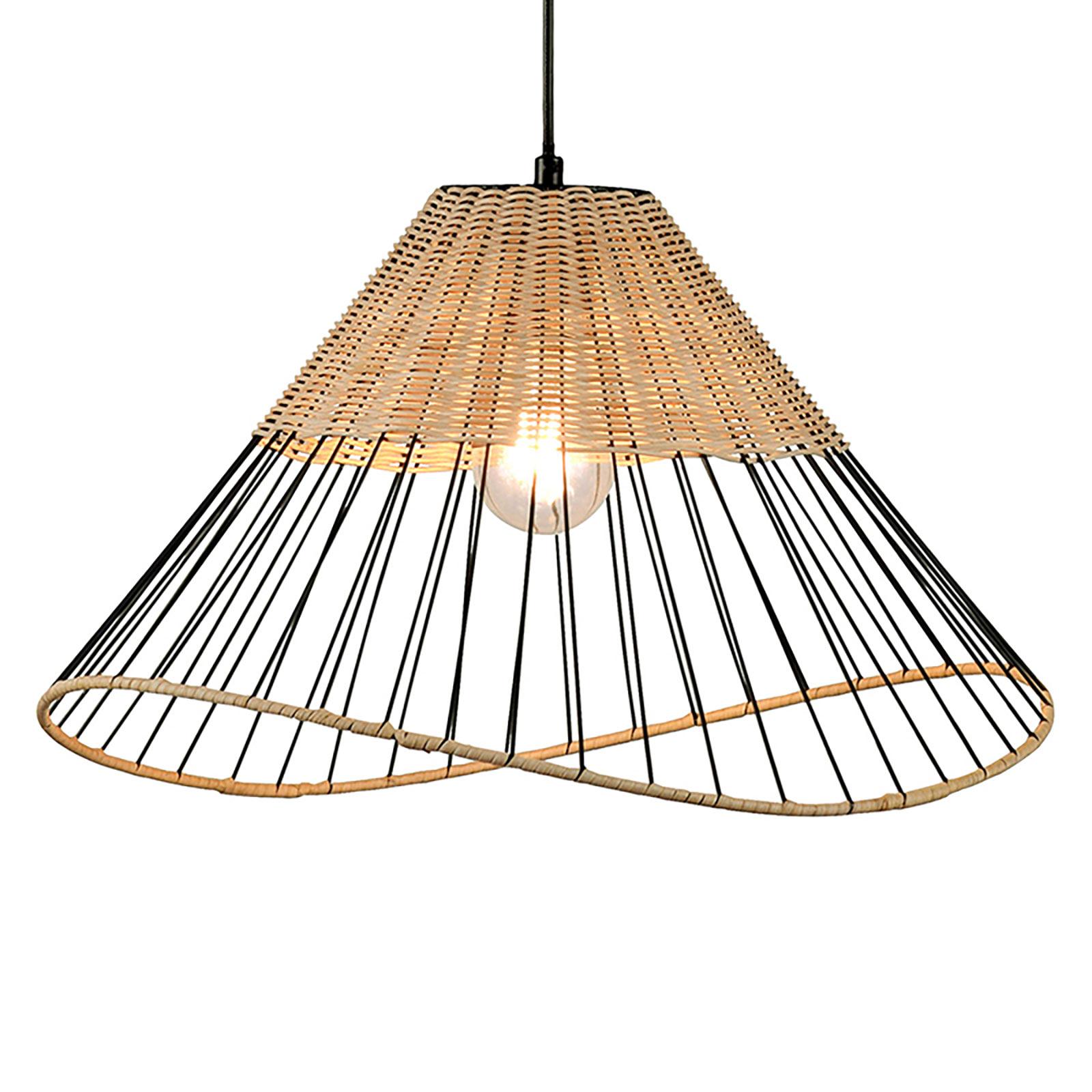 Lampa wisząca Reed ze stożkowym kloszem