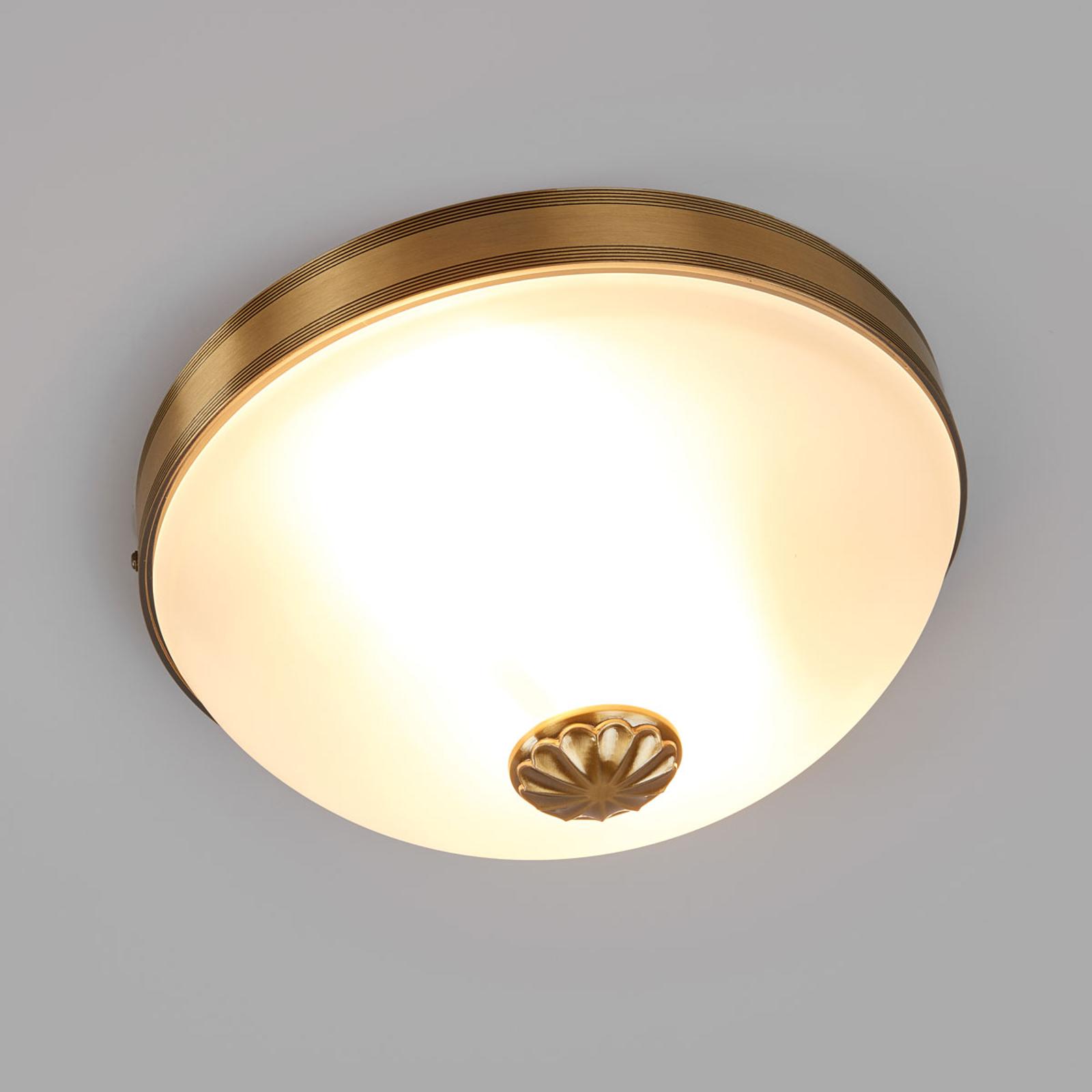Piękna lampa sufitowa Impery w antycznym stylu
