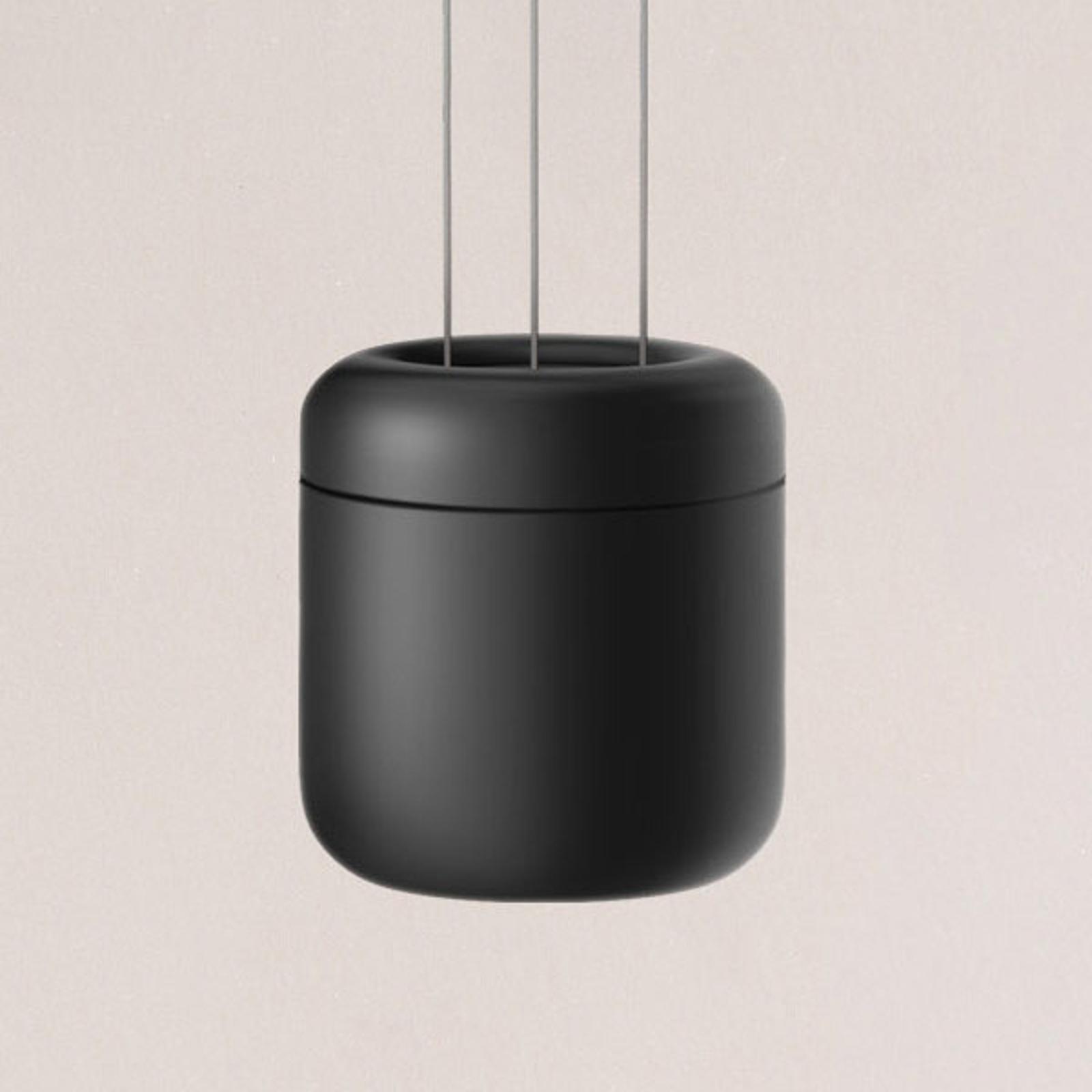 serien.lighting Cavity Suspension S, nero