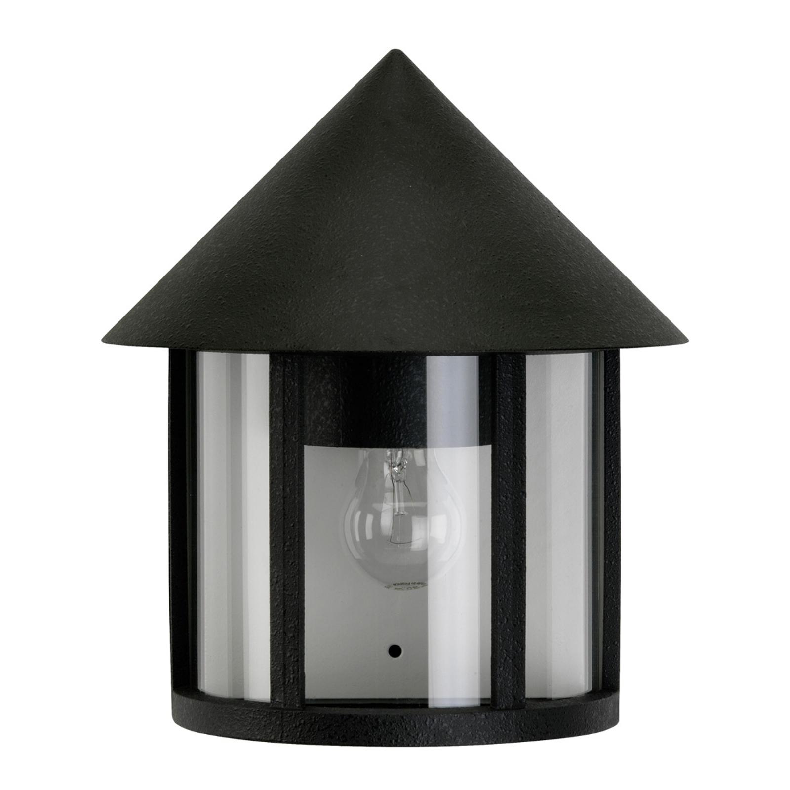 Ouderwetse buitenwandlamp Vecchio zwart