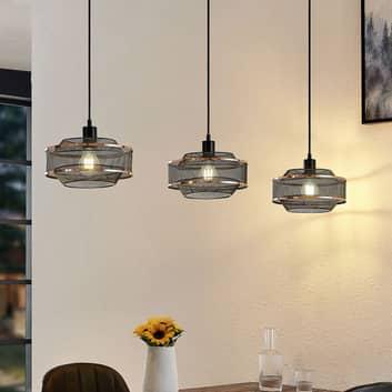Lindby Dionta klecové závěsné světlo 3žárovkové