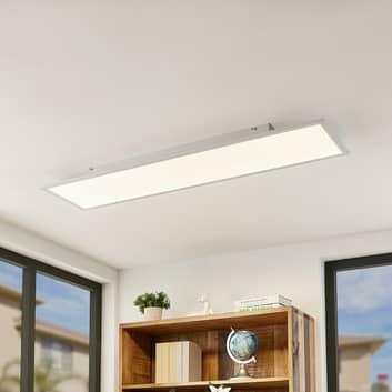 Lindby Quais panel LED 4000K, 30x120 cm
