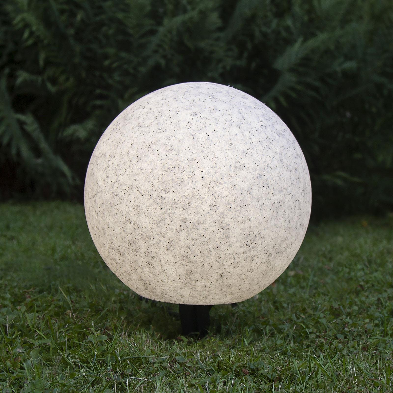 Lampa tarasowa Gardenlight, kulista, 30 cm