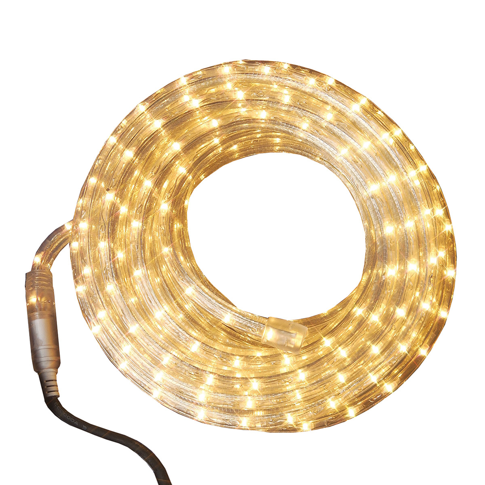 Tube lumineux Ropelight 6 m transparent