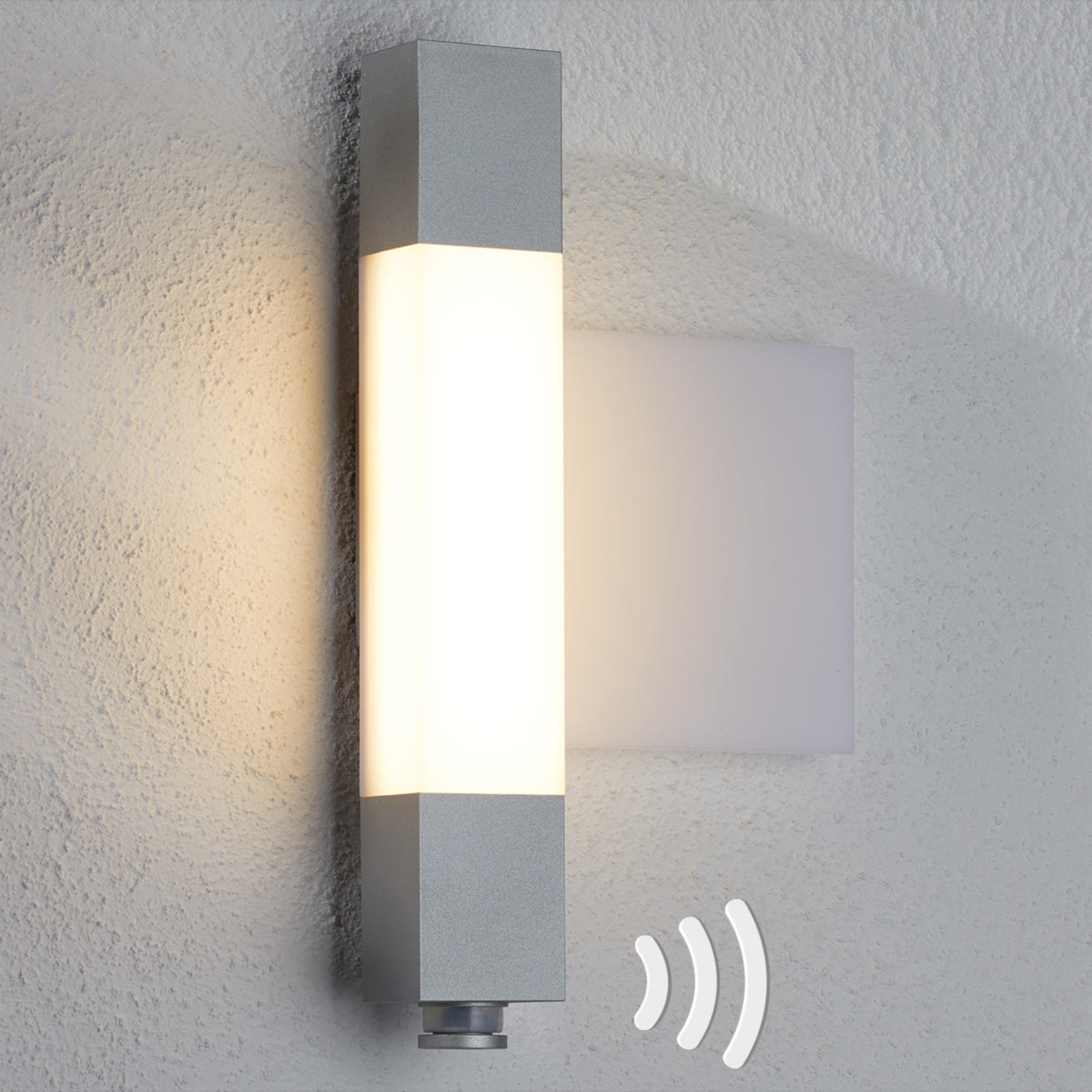 Image of: Steinel L630 Led Outdoor Wall Light House Number Lights Co Uk