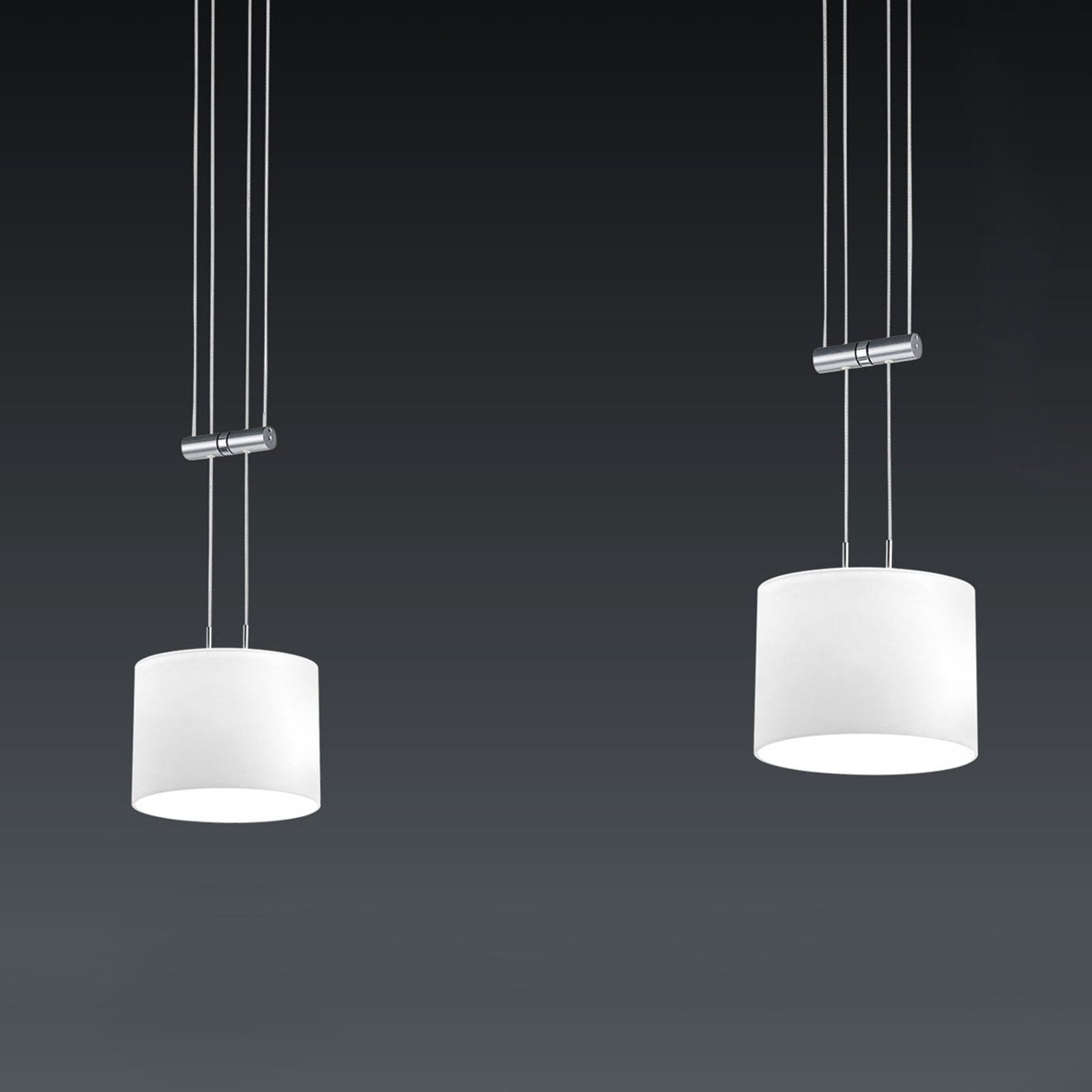 BANKAMP Grazia LED-Hängeleuchte , ZigBee-fähig 2fl