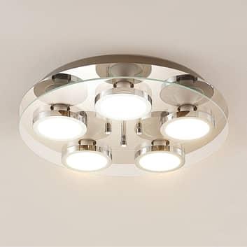 Lindby Gabryl plafonnier LED à 5 lampes