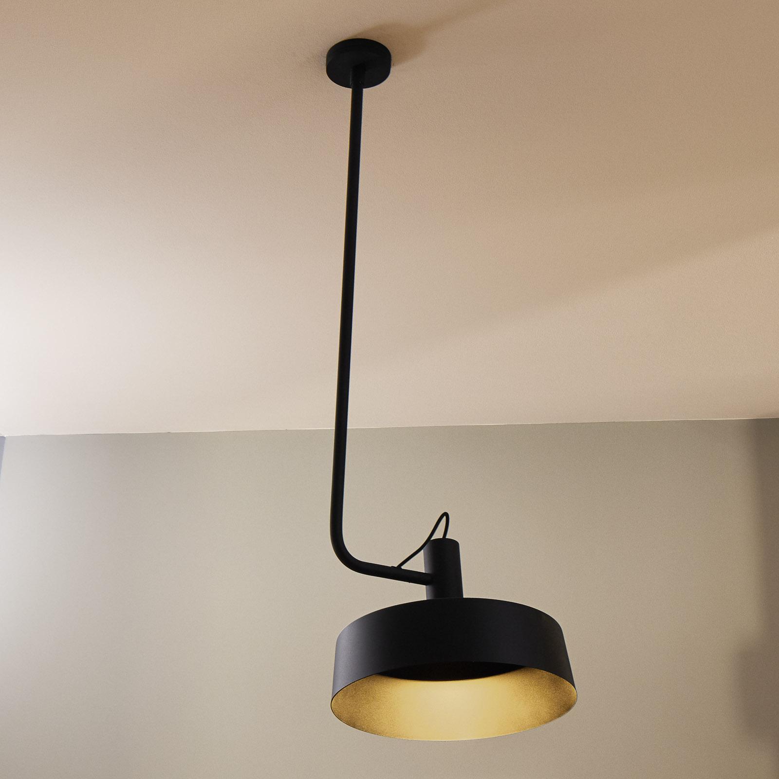 WEVER & DUCRÉ Roomor susp. GU10 1l. 40,5cm noire