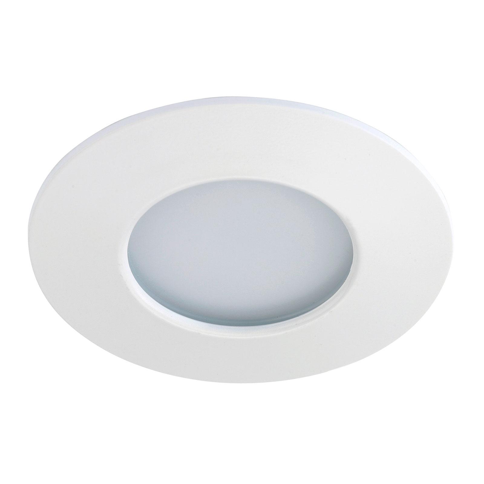 Spot encastré LED blanc Felia, IP44